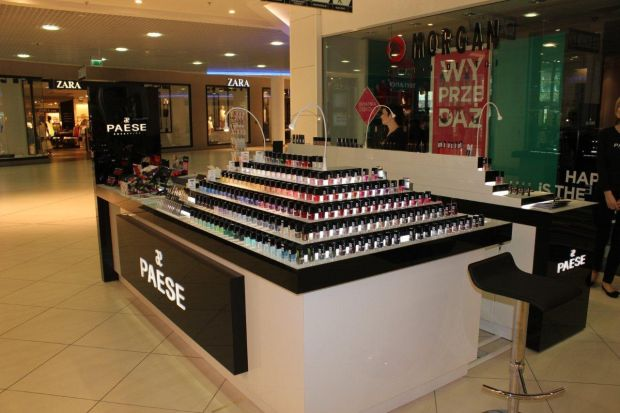 Nowe stoisko kosmetyczne Pease w Centrum Galaxy