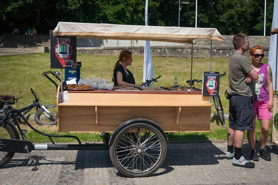 I przedpremierowo nowy lokal: Stojaki. Otwarcie już w czerwcu, przy ulicy Rayskiego. Ma to być miejsce w szczególności dla rowerzystów... ale i nie tylko.