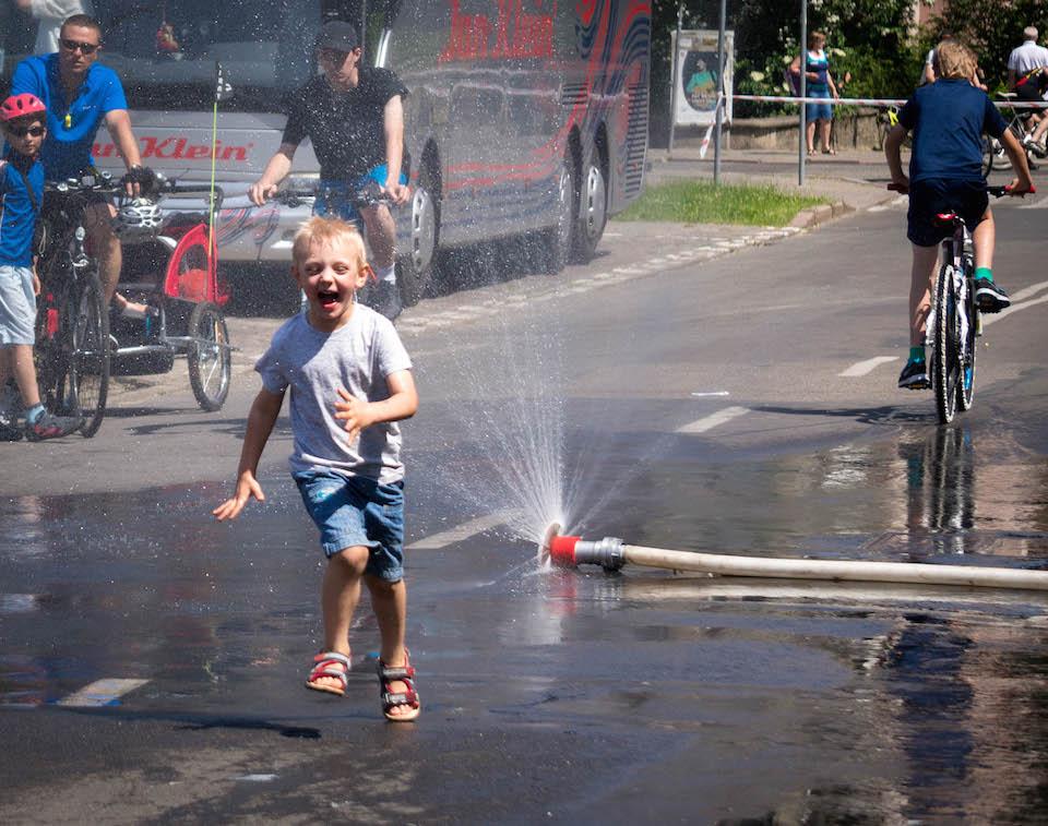 Każdemu było gorąco!