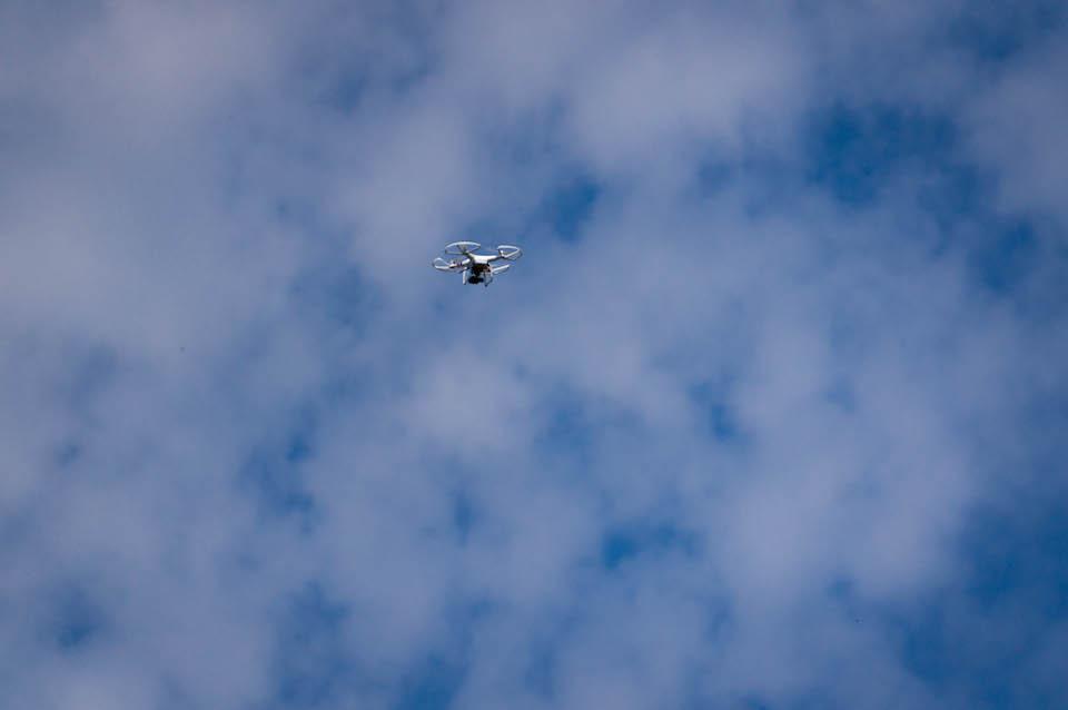 Byliśmy obserwowani przez drona. Czekam na filmik!