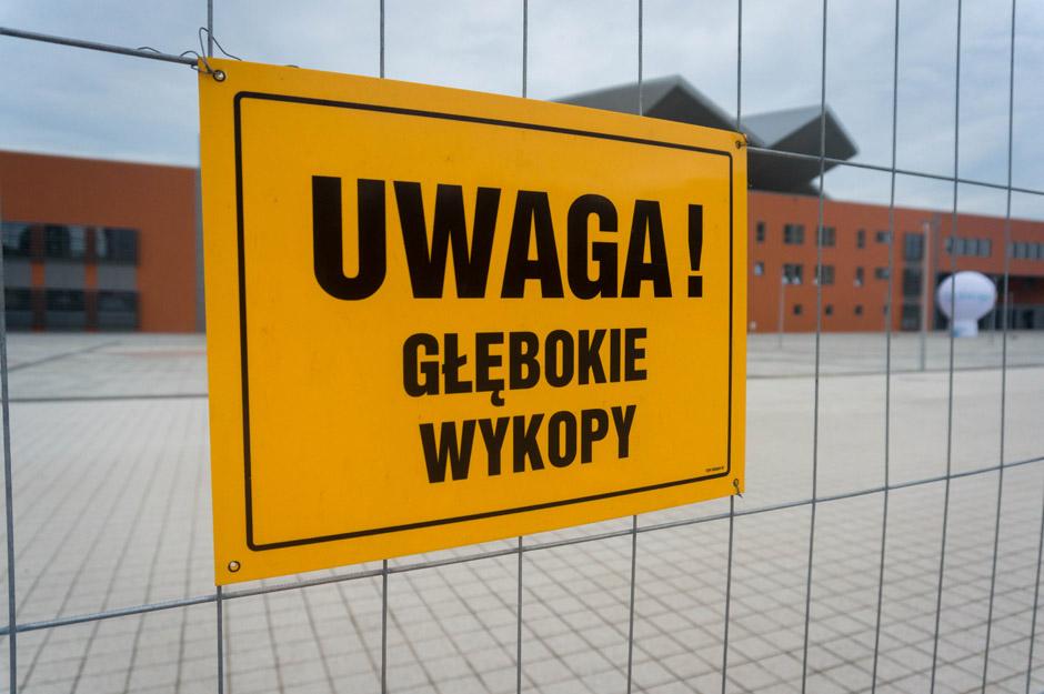Dziś przyszedł czas odwiedzić halę widowiskowo-sportową przy ulicy Szafera.