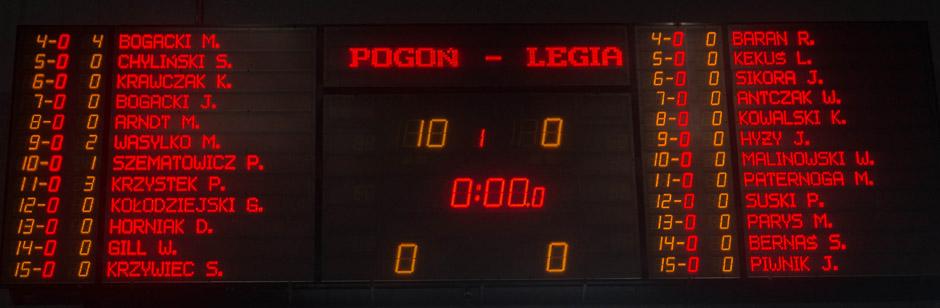 Organizatorzy sobie zażartowali - to pewnie po przedostatnim meczu Legii z dublińczykami ;)