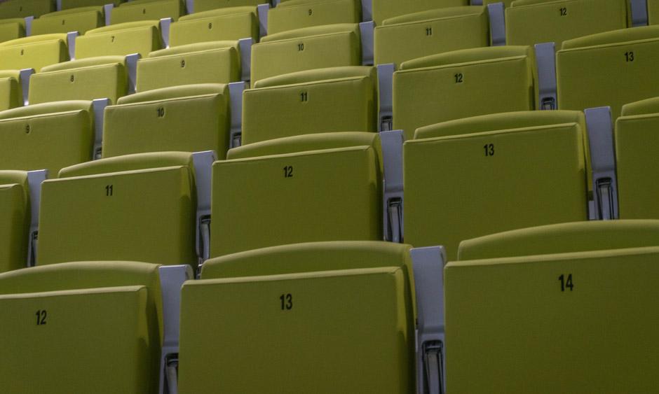 Krzesełka dla VIPów :)