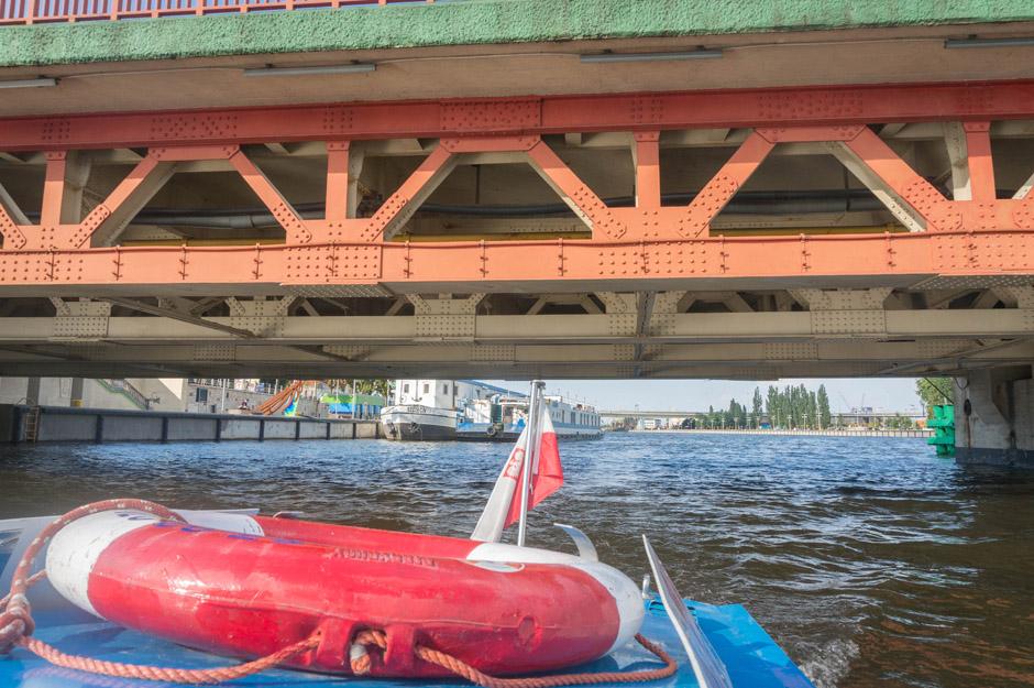 Most Długi od dołu. Jest naprawdę nisko!