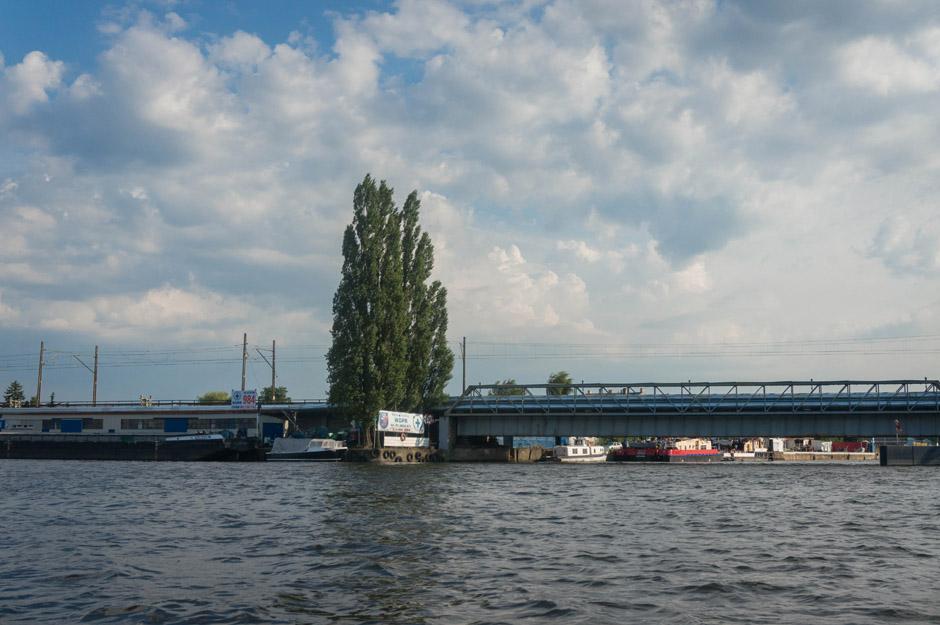 Most kolejowy.