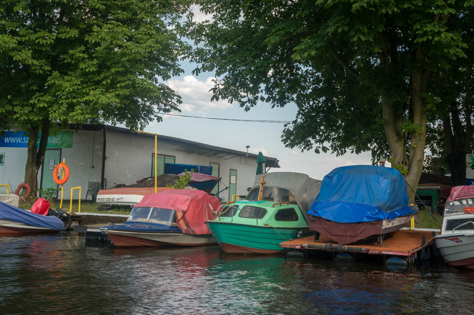 Łódki, łódki wszędzie.
