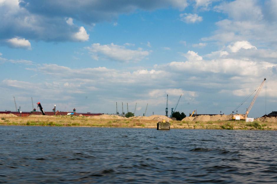 Port Jachtowy - stan obecny.
