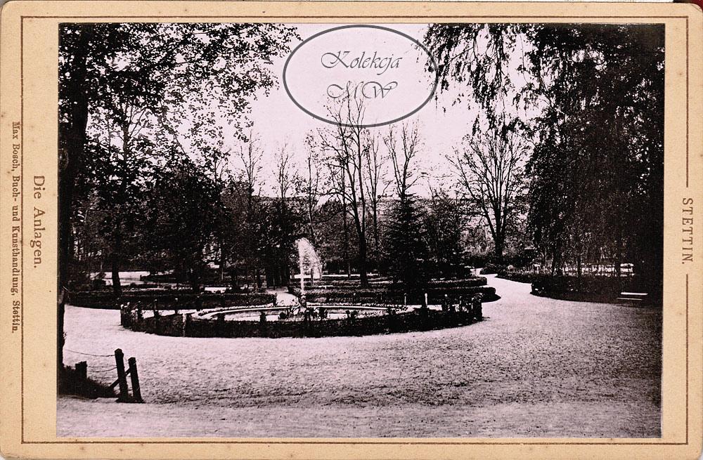 Park Żeromskiego. Nie da się ukryć, fontanna dodawała mu uroku.
