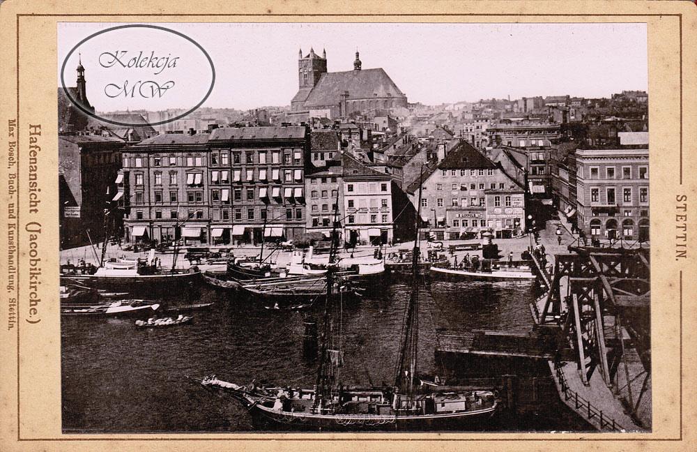 Widok na Stare Miasto z okolicy Mostu Długiego. Cóż tu opowiadać, wystarczy popatrzeć. O wiekowości ujęcia świadczy brak wysokiego hełmu katedry.
