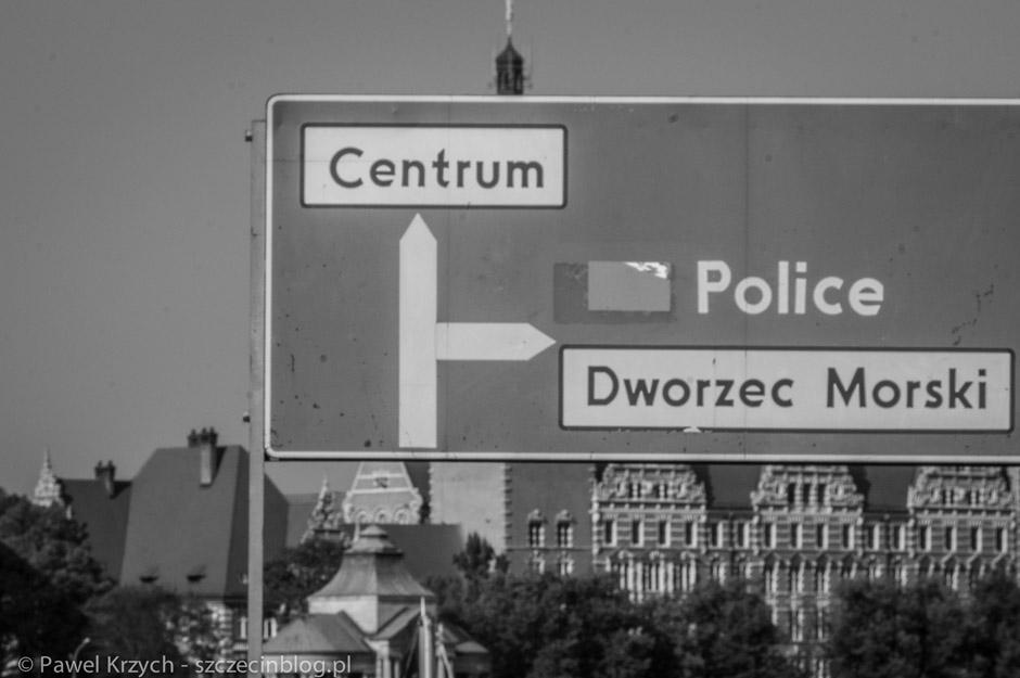 Police zostały całkowicie zniszczone. Na szczęście dla Szczecina wiało w drugą stronę.