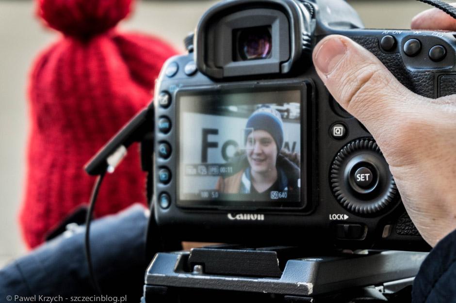 Jeszcze tylko kilka wywiadów przed wyjazdem i możemy ruszać. Relację video robiła ekipa z wSzczecinie.tv: Wojtek, Maja i Karolina. Film oczywiście możecie obejrzeć również w tym wpisie.