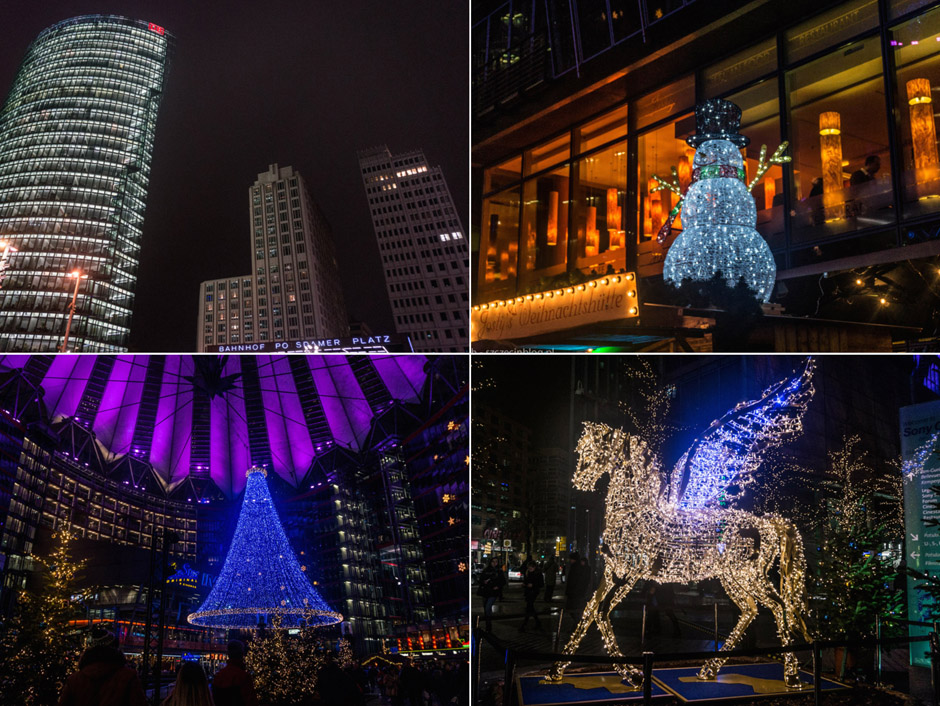 Świąteczny Berlin nocą zachwyca!