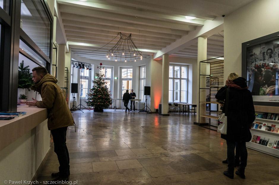 I już w w siedzibie pierwszej organizacji - Kulturprojekte Berlin przy Klosterstraße 68.