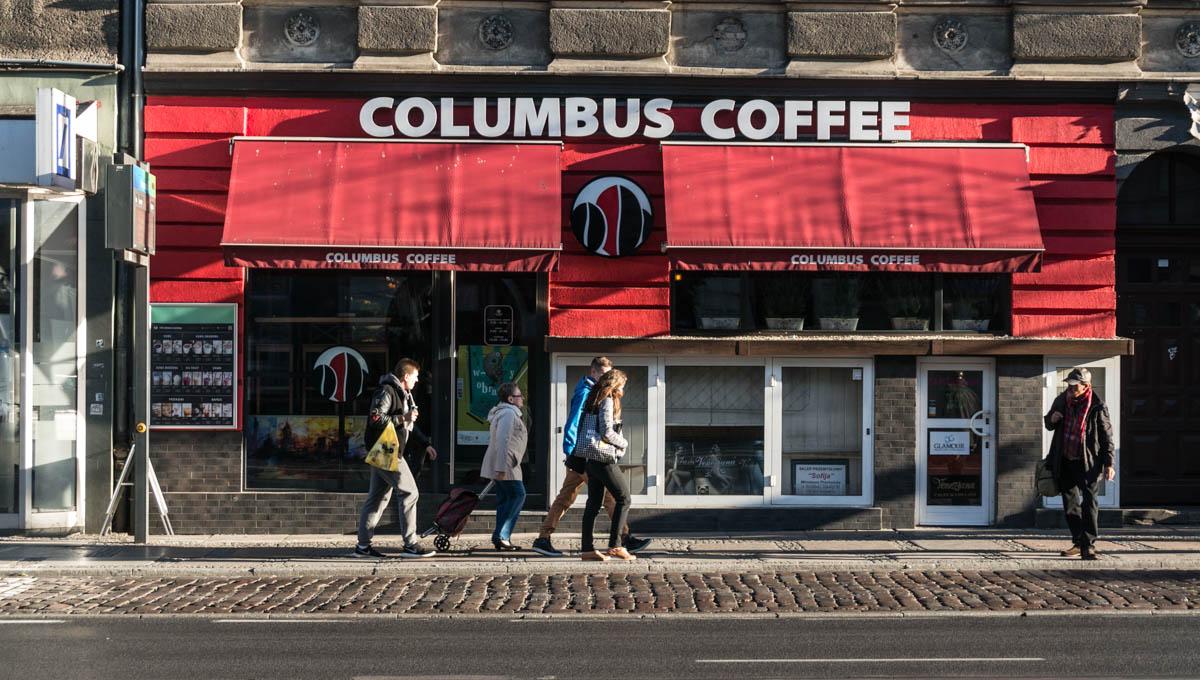 Columbus Coffee Nikola - ul. Krzywoustego