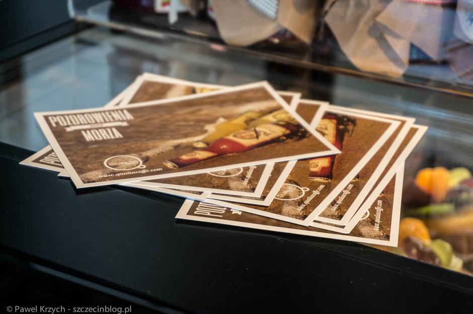 Pocztówki z Qualia Coffee (Pozdrowienia znad morza)