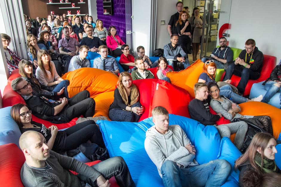 W Business Link Szczecin odbywają się liczne wydarzenia - tutaj na zdjęciu Social Media Czwartek