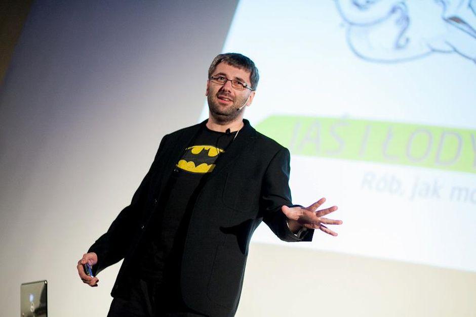 Zdjęcie Pawła Tkaczyka z Internet Beta 2012
