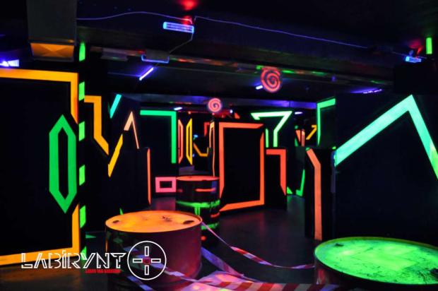 20% zniżki na elektroniczny paintball w Labirynt Laser