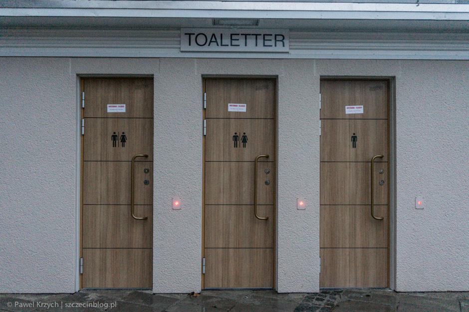 I jeszcze w temacie estetyki: miejska publiczna toaleta. I teraz obok w myślach postawcie sobie nasze toi-toi.