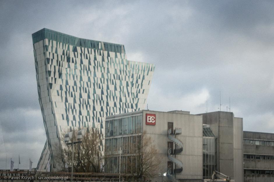I jużna miejscu - w głównej destynacji naszej wycieczki - Kopenhadze. Bella Sky Hotel przyciągnął moją szczególną uwagę. Postanowiłem wejśćdo środka.