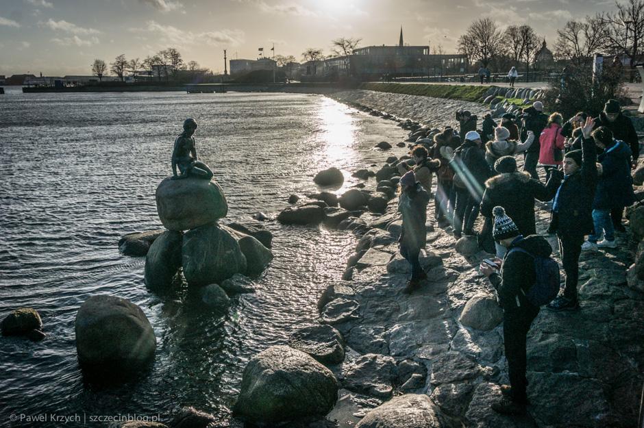 Mimo że to moja trzecia wizyta w Kopenhadze, dopiero teraz udało mi się dotrzeć do Małej Syrenki.
