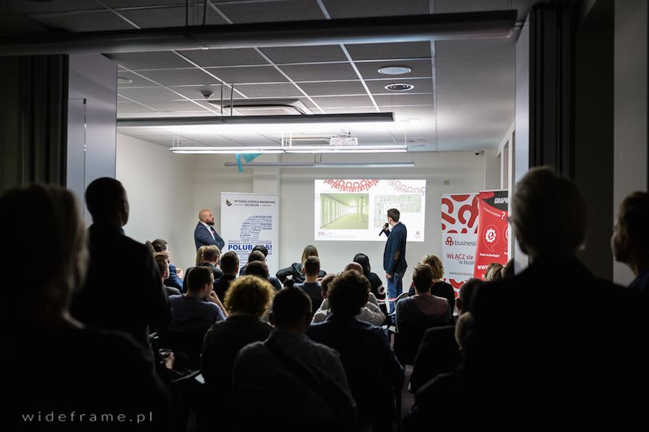 Business Link Szczecin podczas swoich pierwszych urodzin.