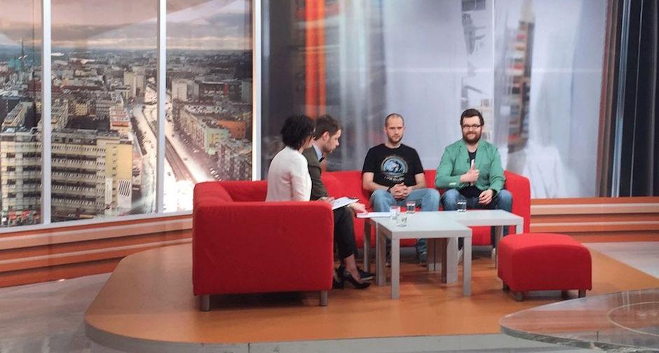 Razem z Michałem Jakubów w programie TVP3 Szczecin
