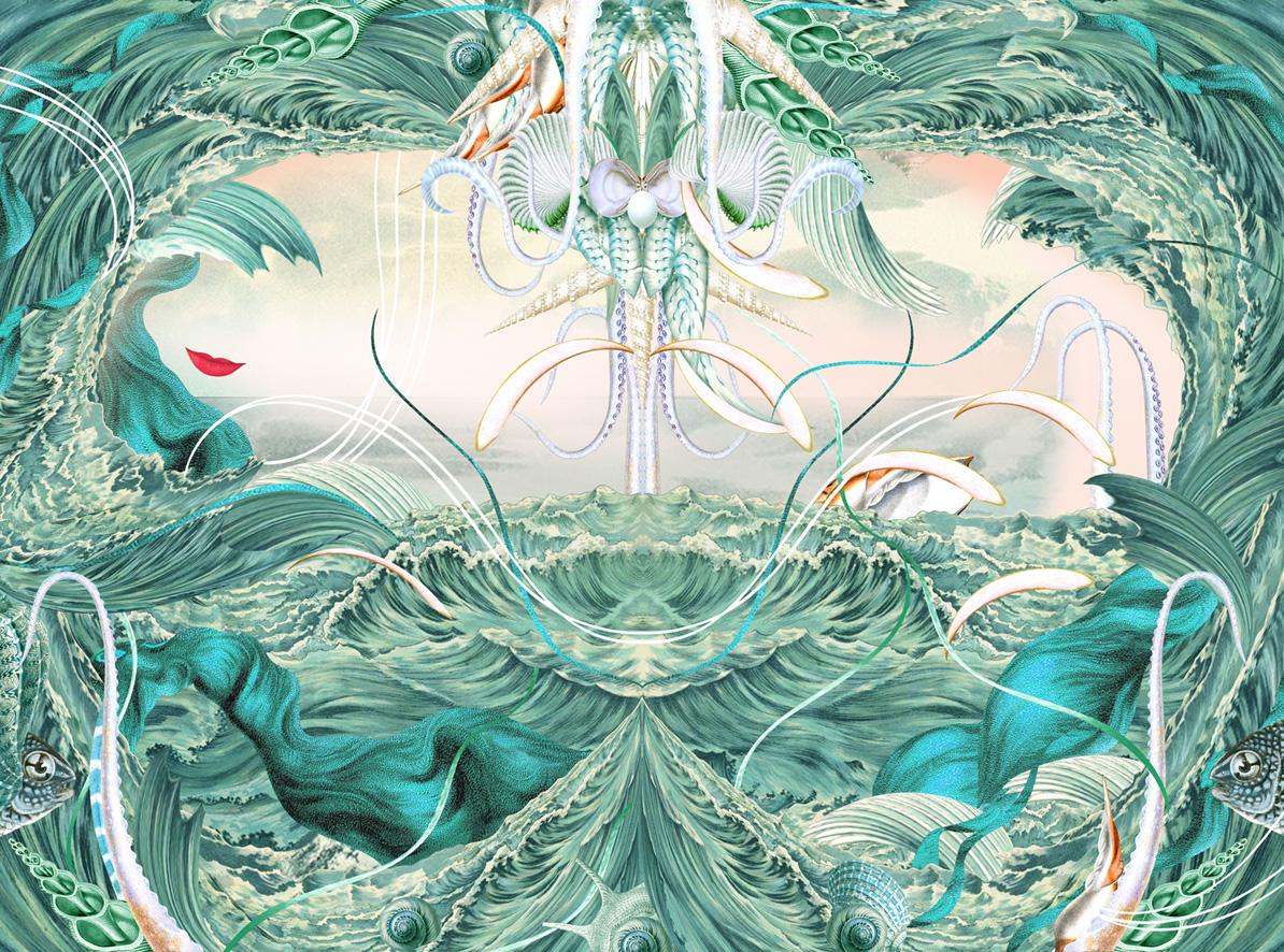 Bożka Rydlewska - Ocean Peruka