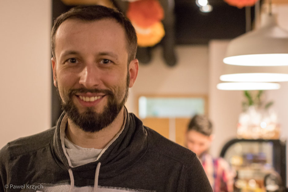 Przemysław Słowik - jeden z pomysłodawców projektu.